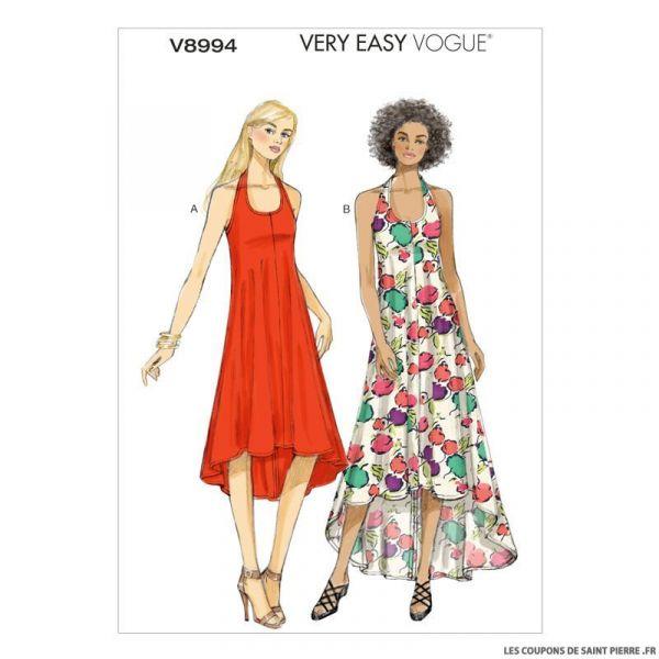 Patron Vogue V8994 : Robe américaine