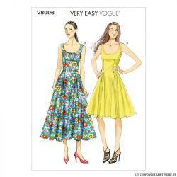 Patron Vogue V8996 : Robe moulante