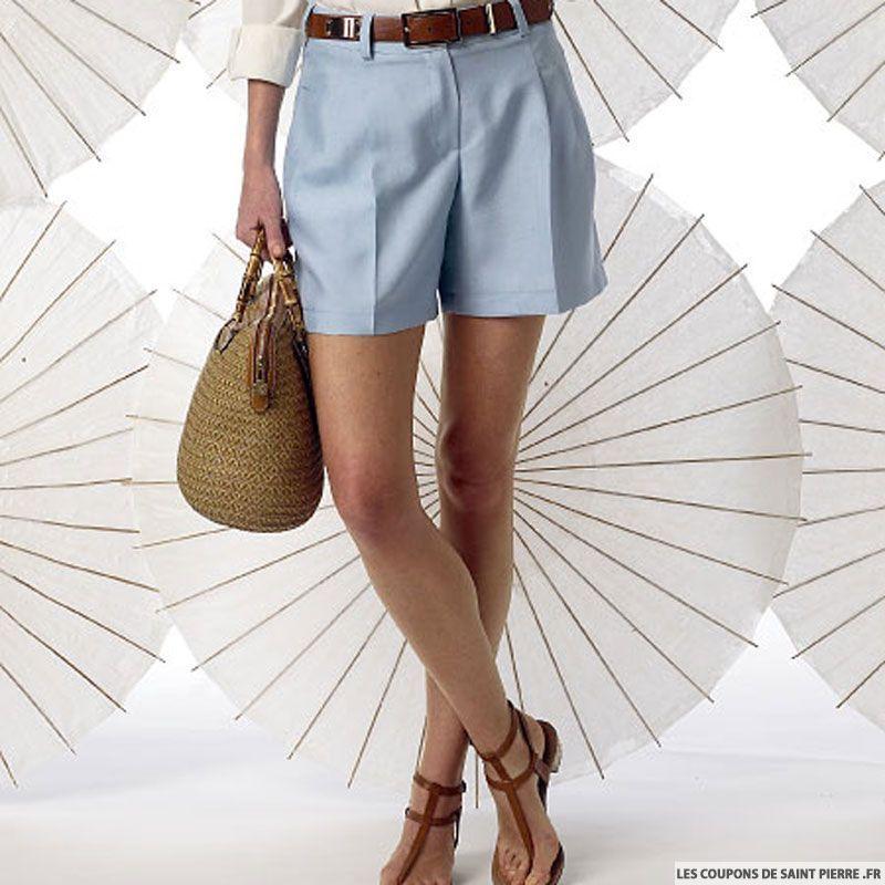 Pattern V9008corto alta Vogue de costura c3TlKF1J