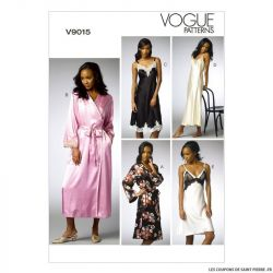 Patron Vogue V9015: nuisette