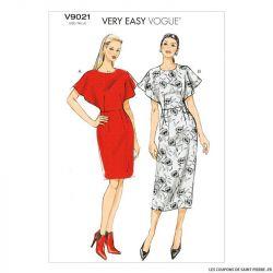 Patron Vogue V9021: Robe ajustée