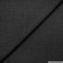 Etamine polyester noir