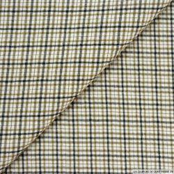 Seersucker coton carreaux