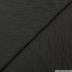 Voile de laine mélangée noir
