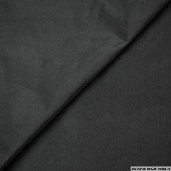 Taffetas polyester noir