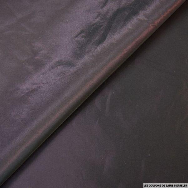 Taffetas polyester violet changeant