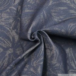 Jean's coton élasthane jasmin fond bleu