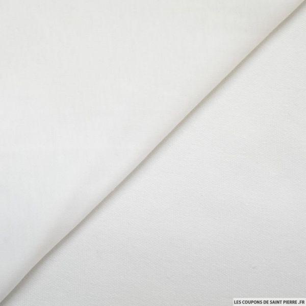 Molleton léger blanc