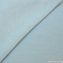 Molleton léger bleu clair
