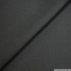 Sergé de laine noir