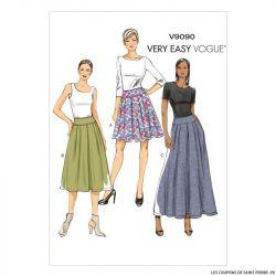 Patron Vogue V9090 : Jupe