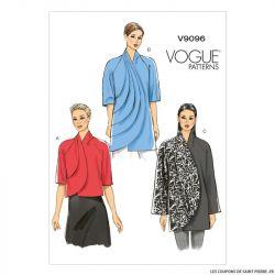 Patron Vogue V9096 : Veste
