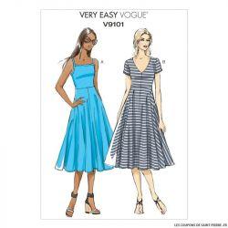 Patron Vogue V9101 : Robe