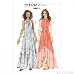 Patron Vogue V9104 : Robe