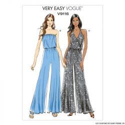Patron Vogue V9116 : Combinaison