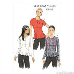 Patron Vogue V9128 : Haut