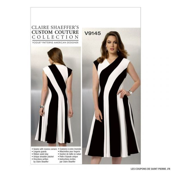 Patron Vogue V9145 : Robe