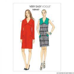 Patron Vogue V9147 : Robe