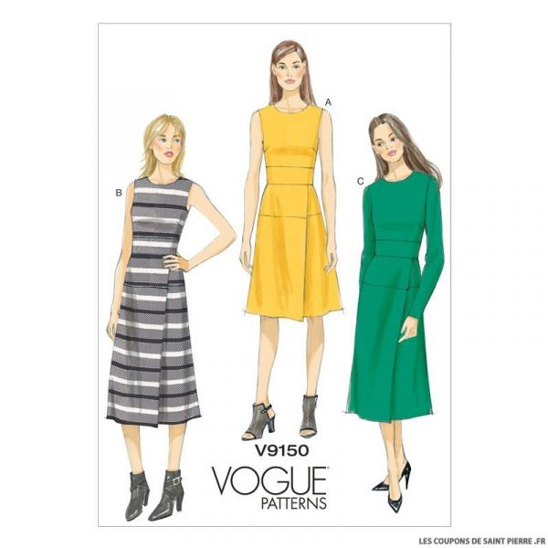 Patron Vogue V9150 : Robe