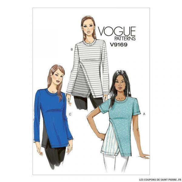 Patron Vogue V9169 : Haut