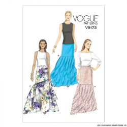 Patron Vogue V9173 : Jupe