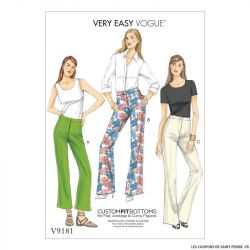 Patron Vogue V9181 : Pantalon