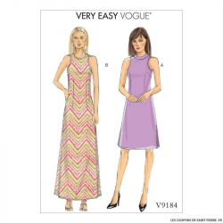 Patron Vogue V9184 : Robe