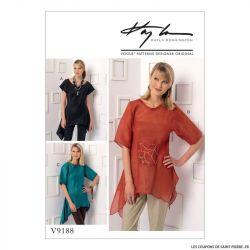 Patron Vogue V9188 : Haut