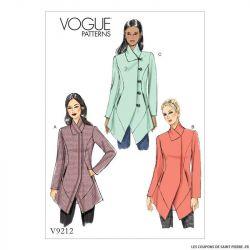 Patron Vogue V9212 : Veste