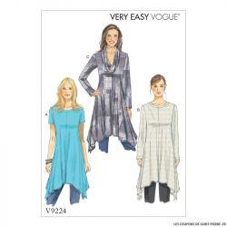 Patron Vogue V9224 : Tunique