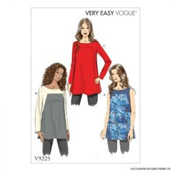 Patron Vogue V9225: Tunique