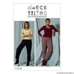 Patron Vogue V9228 : Pantalon