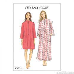 Patron Vogue V9232 : Caftan