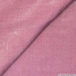 Velours de soie rose balais