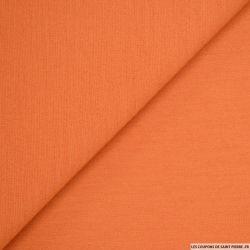 Jersey de laine lourd orange