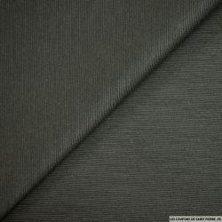 Jersey de laine vert forêt