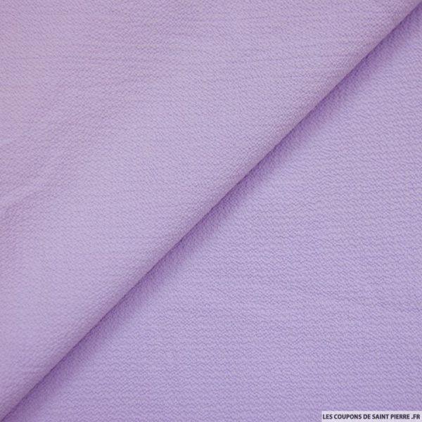 Crêpe gaufré lilas