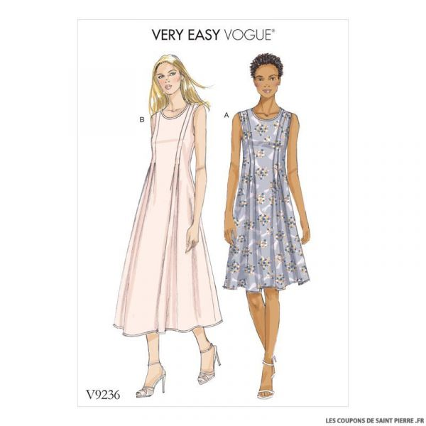 Patron Vogue V9236 : Robe