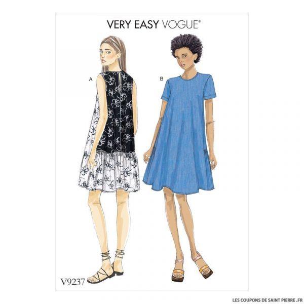 Patron Vogue V9237 : Robe