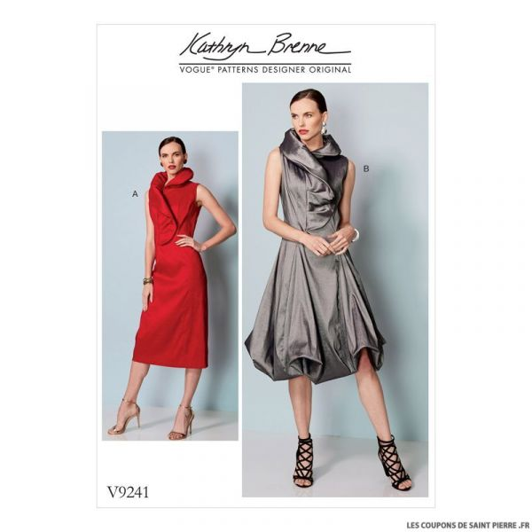 Patron Vogue V9241 : Robe