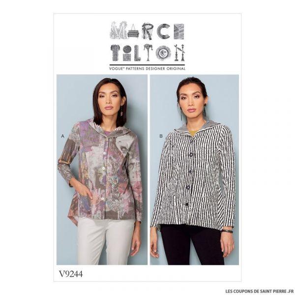 Patron Vogue V9244 : Veste