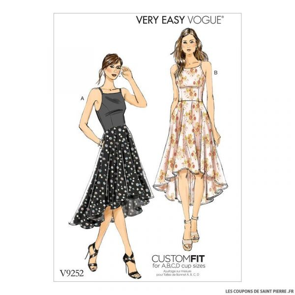 Patron Vogue V9252 : Robe