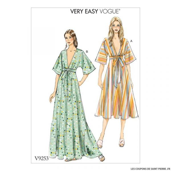 Patron Vogue V9253 : Robe