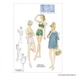 Patron Vogue V9255 : Soutien-gorge et short