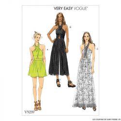 Patron Vogue V9259 : Combinaison