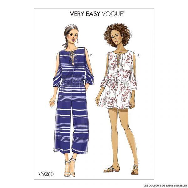 Patron Vogue V9260 : Combinaison