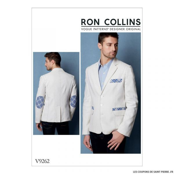 Patron Vogue V9262 : Veste Homme