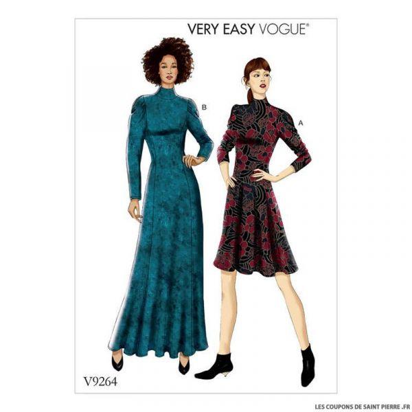Patron Vogue V9264 : Robe