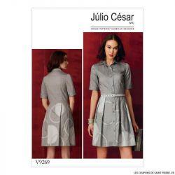 Patron Vogue V9269 : Robe