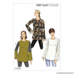 Patron Vogue V9270 : Tunique